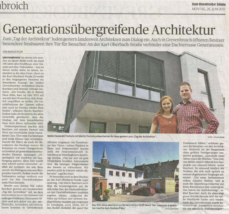 Artikel Tag der Architektur 2017
