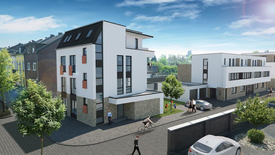 Wohnen Und Arbeiten In Der Lindenstrasse Grevenbroich Architekt